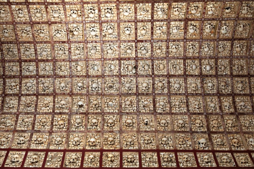 faro church skulls