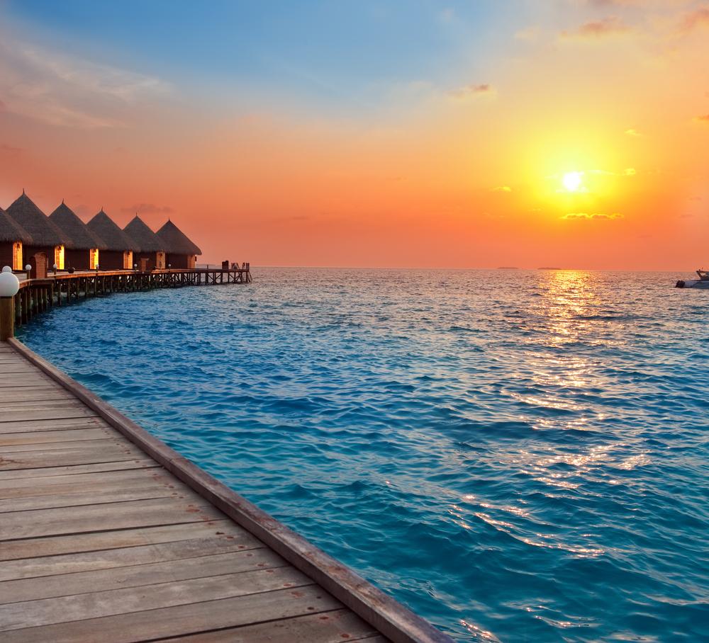 Sun Island Beach Maldives: 14 Most Beautiful Sunsets In The World