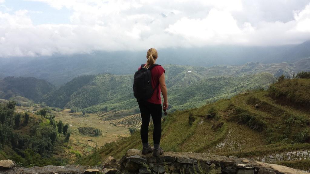 Emily Luxton hiking 1