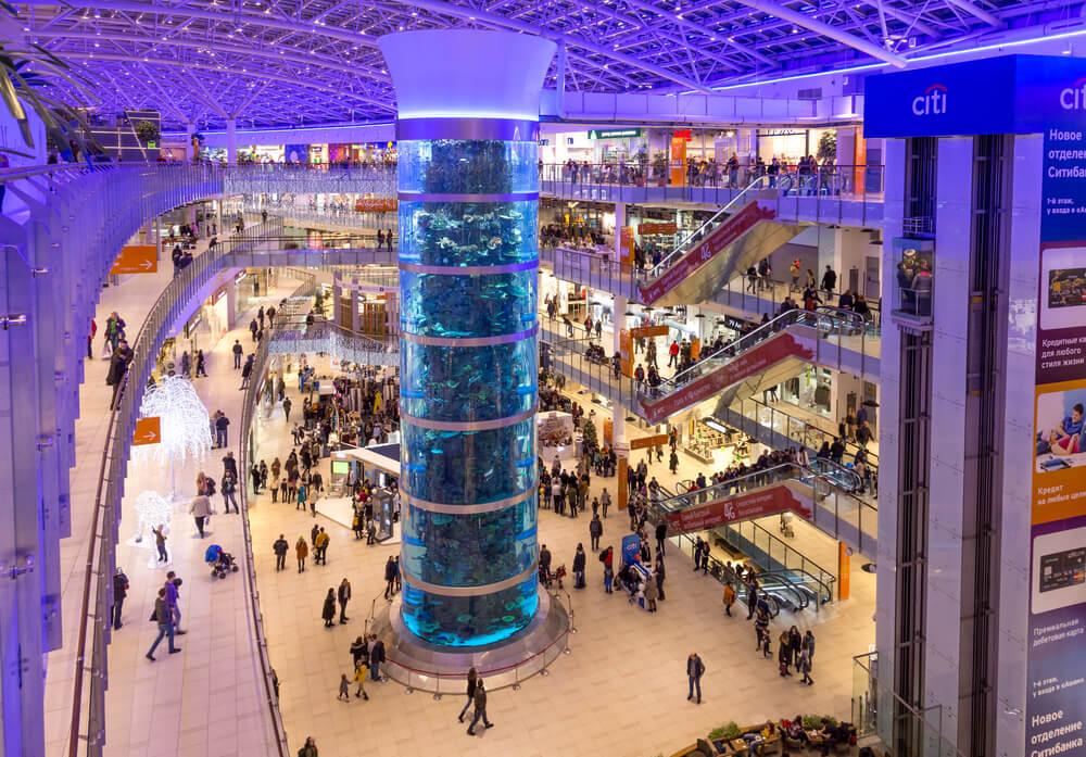 Aviapark shopping mall, Moscow