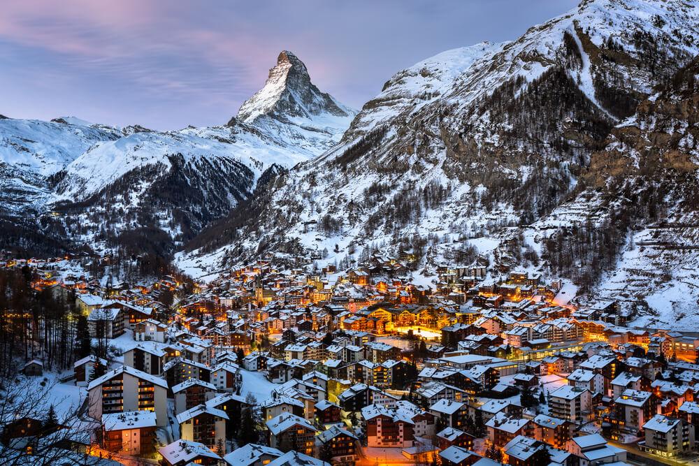 Zermatt Valley, Switzerland